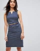 Vero Moda Striped Dress With Belt