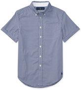 Ralph Lauren Short-Sleeve Oxford Shirt, Toddler & Little Boys (2T-7)