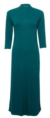 Dorothy Perkins Womens Green High Neck Midi Dress, Green