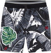 Dolce & Gabbana Botanical garden print sportswear bermudas