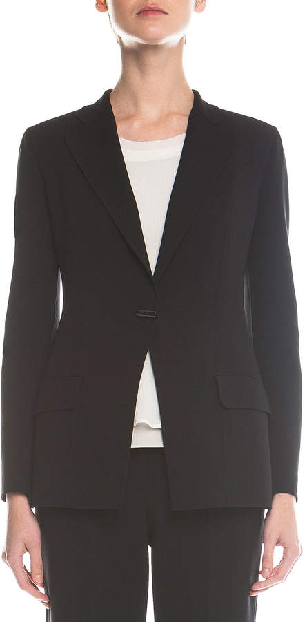 Giorgio Armani Double-Faced Toggle Blazer