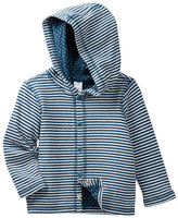Tea Collection Dolce Blue Reversible Hoodie (Baby Boys)