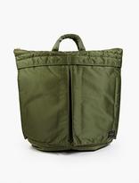 Porter Olive Tanker Helmet Bag