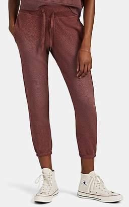 NSF Women's Sayde Floral Cotton Drawstring Sweatpants - Pink