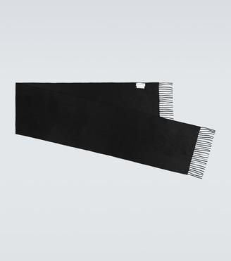 Alexander McQueen Fringed cashmere scarf