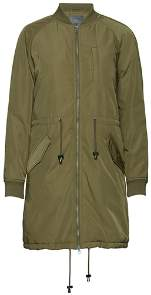 Ichi Khaki Tomp Jacket - M - Brown/Green