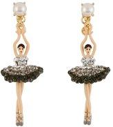 Les Nereides Luxury Silver Crystals Ballerina