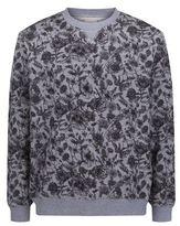 Derek Rose Floral Print Sweatshirt