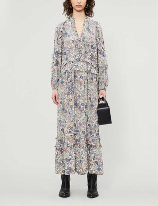 Zadig & Voltaire Realize crepe midi dress
