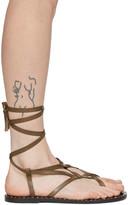 Isabel Marant Brown Jesaro Sandals