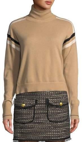 Veronica Beard Canter Cashmere Turtleneck Sweater
