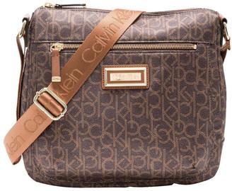 Calvin Klein Nylon Zip Top Crossbody Bag