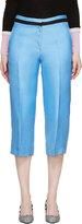 Roksanda Sky Blue Silk Claude Trousers