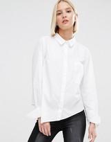 Cheap Monday Asymmetric Hem Shirt
