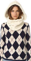 The Third Piece The Newbury Hooded Cowl Scarf
