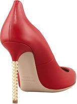 Valentino Extreme Heel Napa Pump, Rosso