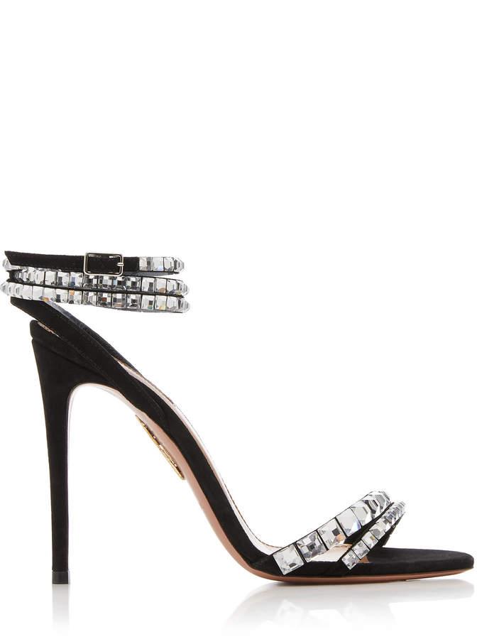 da72ac922 Aquazzura Embellished Women's Sandals - ShopStyle