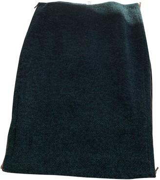 Diane von Furstenberg Green Wool Skirts