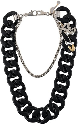 Gianfranco Ferré Pre Owned 2000s Oversized Chain Necklace