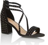 Oasis Sydney Studded Block Heel