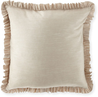 Sherry Kline Home Blissful Solid Linen European Sham
