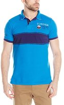 U.S. Polo Assn. Men's Chest Stripe Slim Fit Polo Shirt