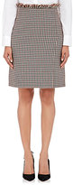 Nina Ricci WOMEN'S CHECKED SKIRT