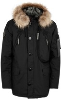 Alpha Industries Polar Black Fur-trimmed Parka