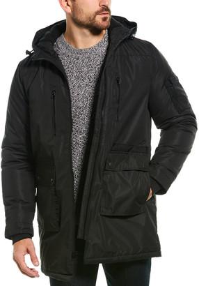 Slate & Stone Greg Polar Fleece-Lined Long Coat
