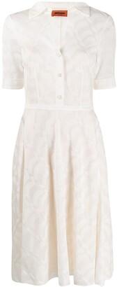 Missoni Knitted Shirt Dress