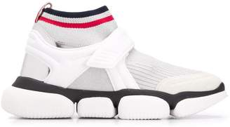 Moncler chunky knitted sneakers