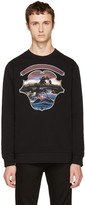 Givenchy Black Dark Hawaii Crest Sweatshirt