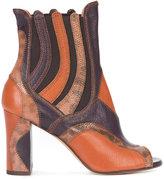 Derek Lam open toe ankle boots
