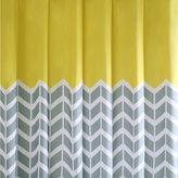 INTELLIGENT DESIGN Intelligent Design Elle Printed Shower Curtain