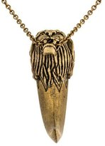House Of Harlow Lion Head Horn Pendant Necklace