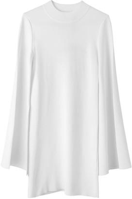 Voya Vega White Knit Mini Dress