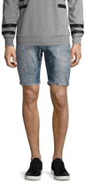 Antony Morato Cotton Faded Denim Shorts