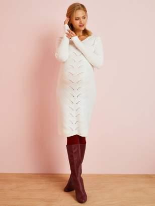Vertbaudet Knitted Maternity Jumper Dress