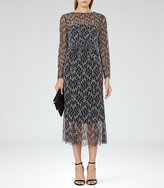 Reiss Maine Lace Midi Dress
