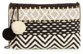 Sole Society Lowell Clutch - Black
