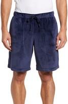 Daniel Buchler Men's Stretch Velvet Lounge Shorts