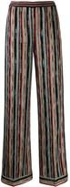 Missoni striped wide leg trousers