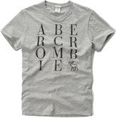 Abercrombie & Fitch & Fitch And Fitch Men's Logo Graphic T-Shirt
