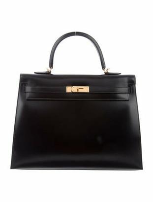 Hermes Box Kelly Sellier 35 Black