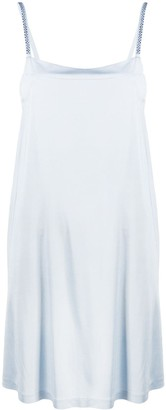 La Perla Crystal Embellished Slip Dress