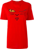 Ermanno Scervino crystal face T-shirt