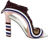 Paula Cademartori Crazy Stripes Sandal