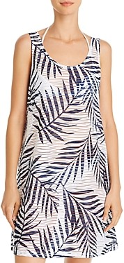 J Valdi Lattice Back Dress Swim Cover-Up