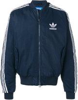 adidas logo zipped jacket