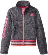 adidas Tumble Track Jacket (Toddler/Kid) - Dark Gray-6